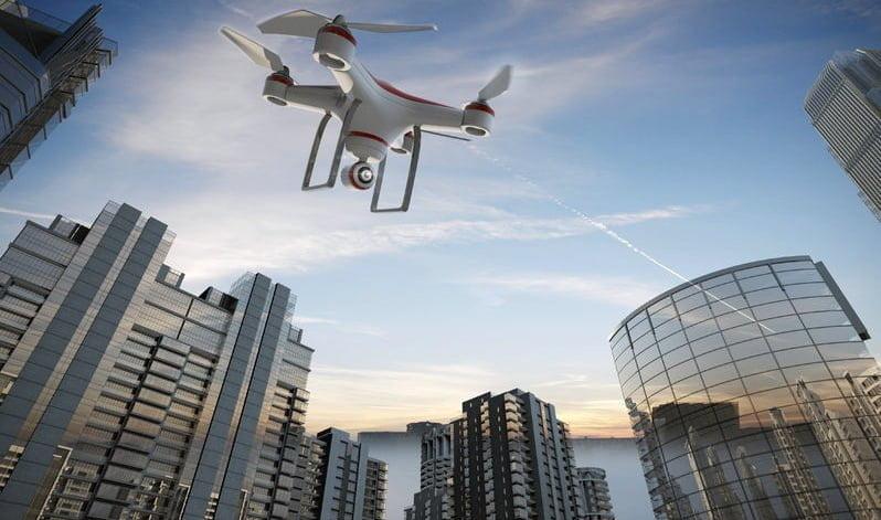 La tendencia de usar drones en el sector inmobiliario
